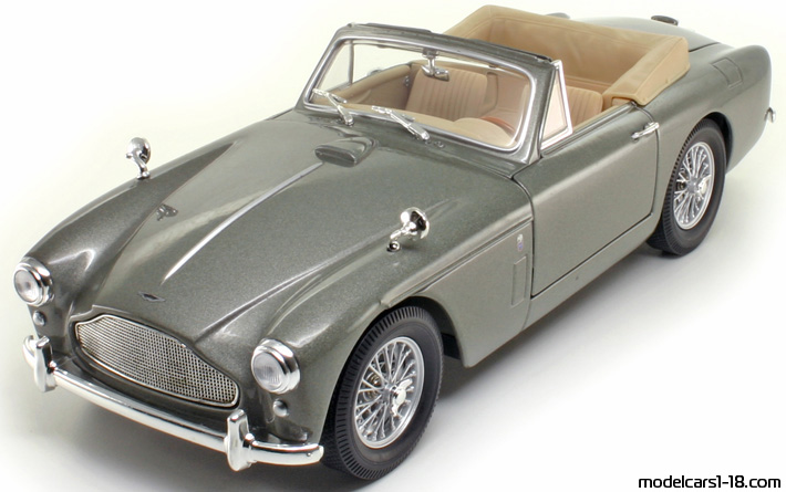 1958 aston martin db2 4 mark iii cabrio yat ming 1 18 details. Black Bedroom Furniture Sets. Home Design Ideas