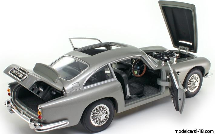 Aston Martin DB James Bond Coupe Beanstalk Details - 1965 aston martin db5