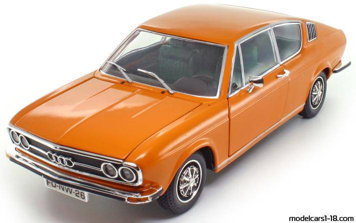 1970 - Audi 100 Coupe S (C1) купе Anson 1/18 - Детайли