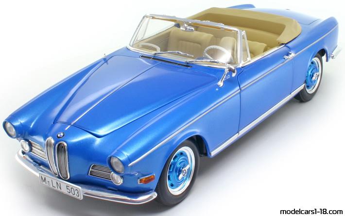 1956 Bmw 503 Cabrio Revell 118 Details