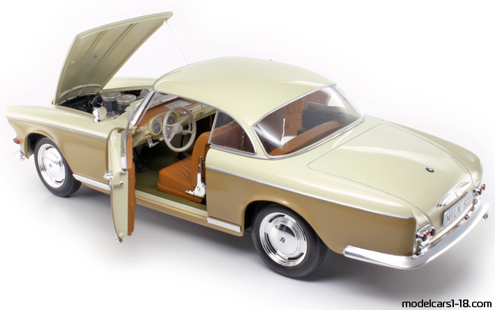 1956 - BMW 503 coupe Revell 1/18 - Details
