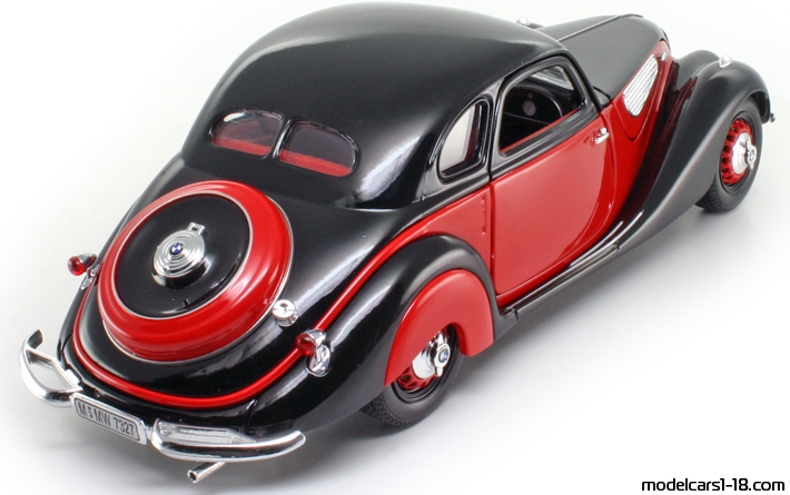 1937 - BMW 327 coupe Guiloy 1/18 - Details