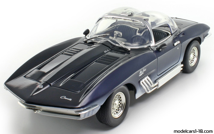 1961 chevrolet corvette mako shark concept coupe mondo motors 1 18 details. Black Bedroom Furniture Sets. Home Design Ideas