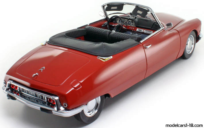 Citroen DS 19 Cabriolet Convertible 1964-68  SUN STAR PLATINUM COLLECTION  1:18