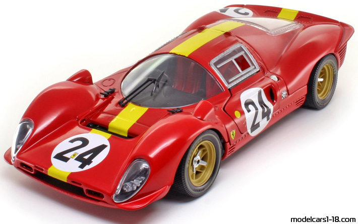 1967 - Ferrari 330 P4, Jouef Evolution  1/18