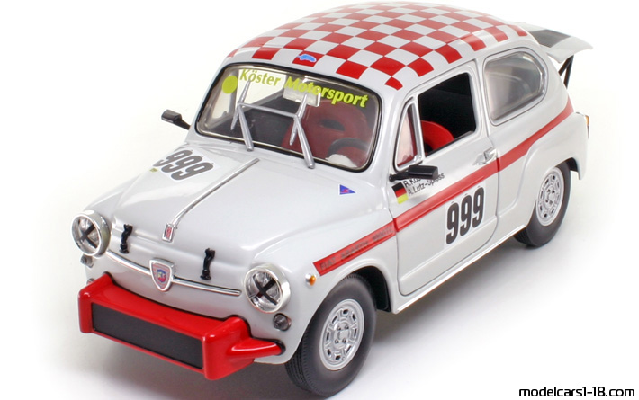 1962 - Fiat Abarth 1000 TC Revell 1/18 - Front Left Side