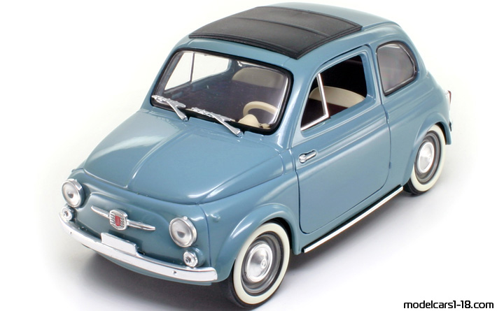 1957 - Fiat 500 Solido 1/16 - Front Left Side