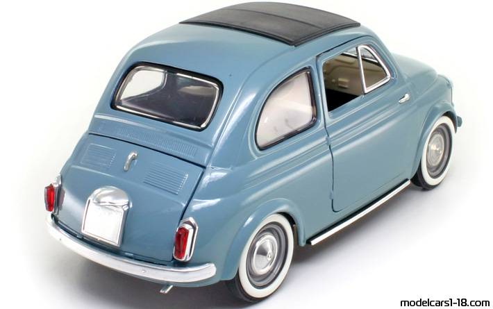 1957 - Fiat 500 Solido 1/16 - Rear Right Side
