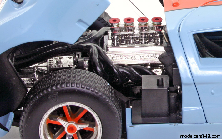 1966 ford gt40 universal hobbies 118 engine