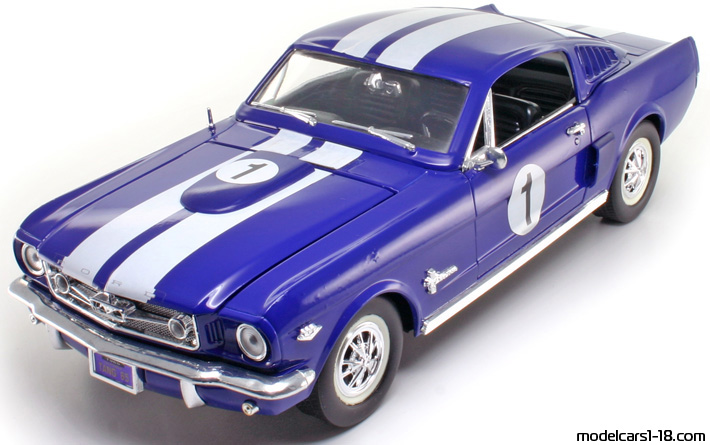 1965 - Ford Mustang Shelby GT, Mira  1/18