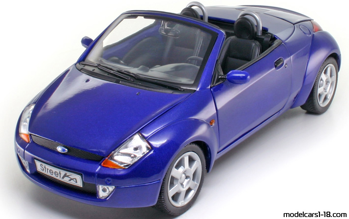 2003 ford streetka coupe cabrio welly 1 18 details. Black Bedroom Furniture Sets. Home Design Ideas