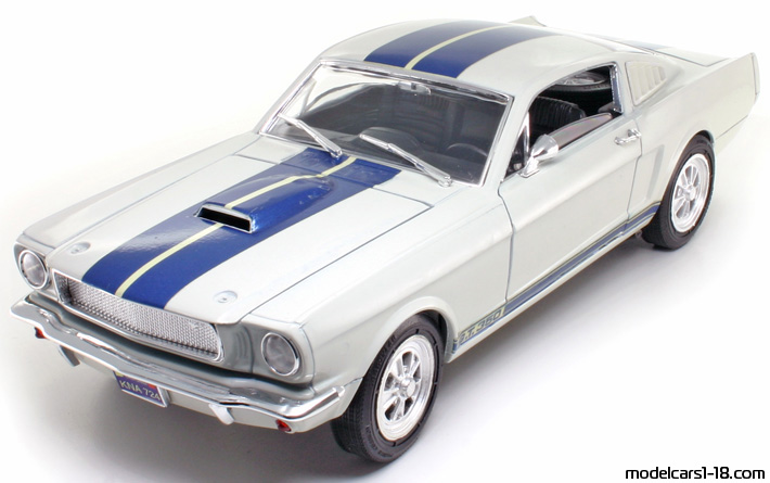 1965 - Ford Mustang Shelby GT350 Jouef Evolution 1/18 - Front Left Side