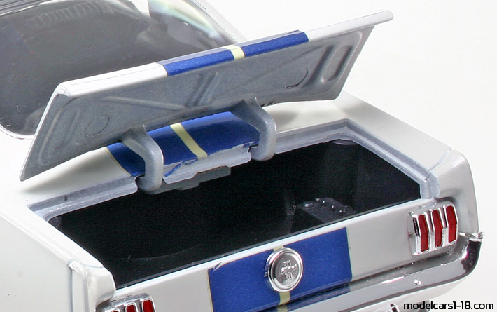 1965 - Ford Mustang Shelby GT350 Jouef Evolution 1/18 - Trunk / Popup Headlights