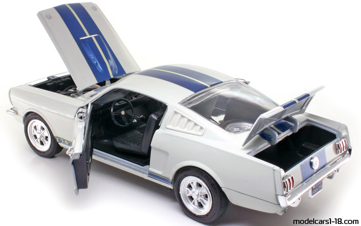 1965 - Ford Mustang Shelby GT350 Jouef Evolution 1/18 - All Opening Parts