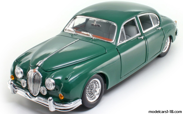 1955 - Jaguar Mark II, Bburago  1/18