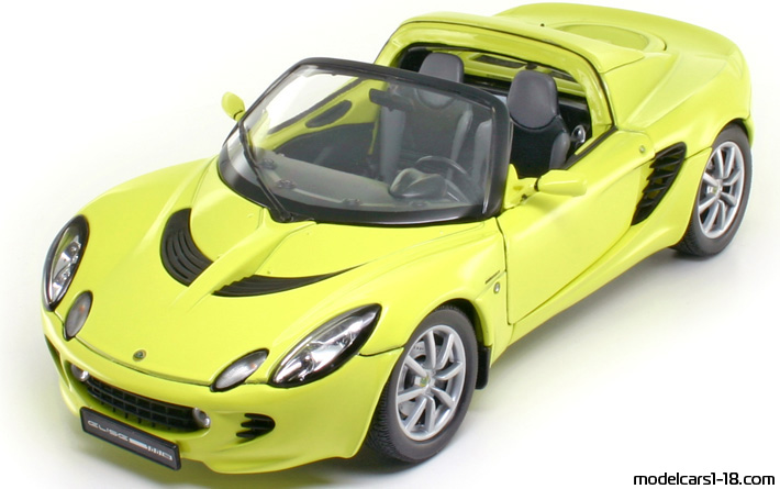 2003 - Lotus Elise 111S Welly 1/18 - Front Left Side