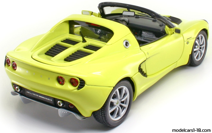 2003 - Lotus Elise 111S Welly 1/18 - Rear Right Side