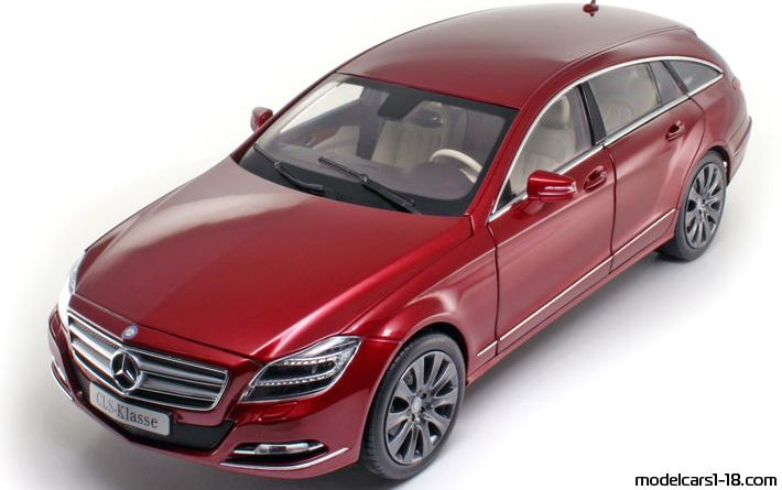 2012 mercedes cls shooting brake x218 kombi norev 1 18 details. Black Bedroom Furniture Sets. Home Design Ideas