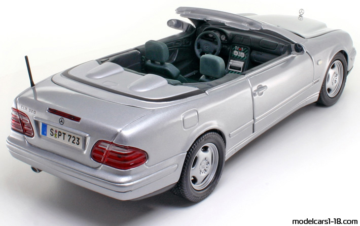 1997 mercedes clk 320 w208 cabrio anson 1 18 details. Black Bedroom Furniture Sets. Home Design Ideas