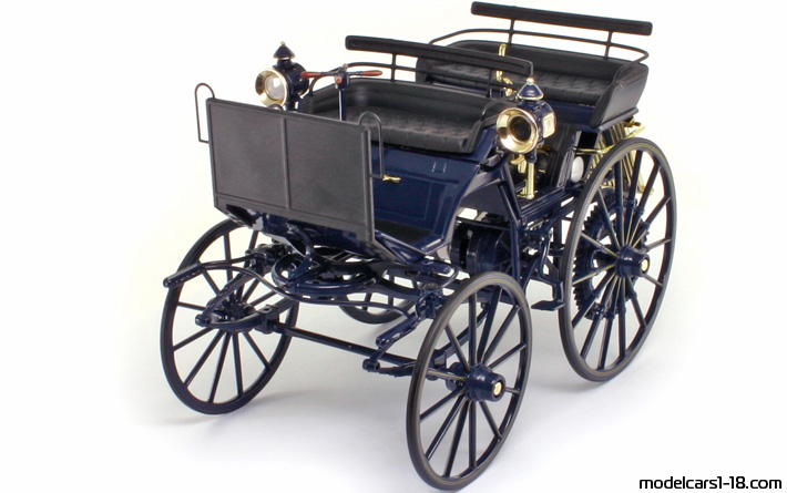 1886 - Mercedes Daimler Motor Carriage, Norev  1/18