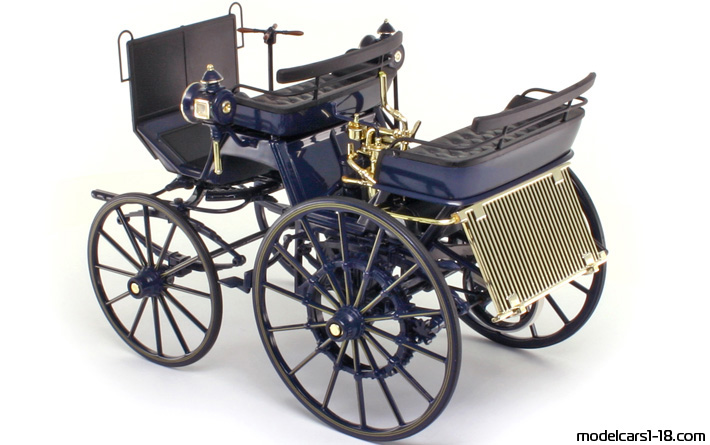 ... 1886 - Mercedes Daimler Motor Carriage Norev 1/18 - All Opening Parts