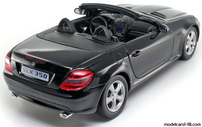 2005 mercedes slk 350 r171 coupe cabrio welly 1 18 details. Black Bedroom Furniture Sets. Home Design Ideas