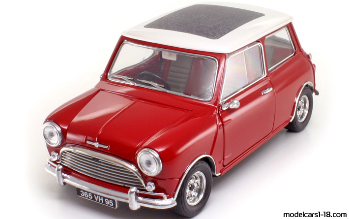 1964 - Morris Mini Cooper S Solido 1/16 - Front Left Side