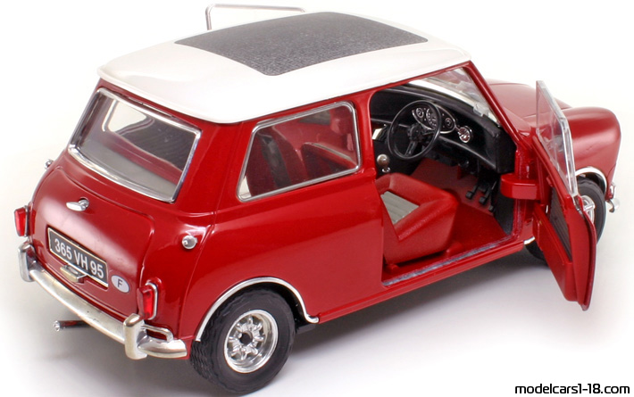 1964 - Morris Mini Cooper S Solido 1/16 - All Opening Parts