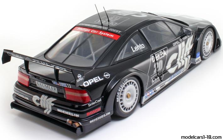 1995 opel calibra v6 dtm racing car ut 1 18 details. Black Bedroom Furniture Sets. Home Design Ideas