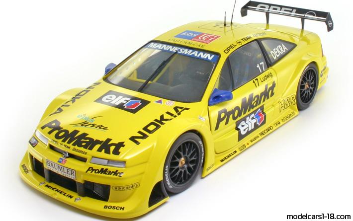 1996 opel calibra v6 dtm racing car ut 1 18 details. Black Bedroom Furniture Sets. Home Design Ideas