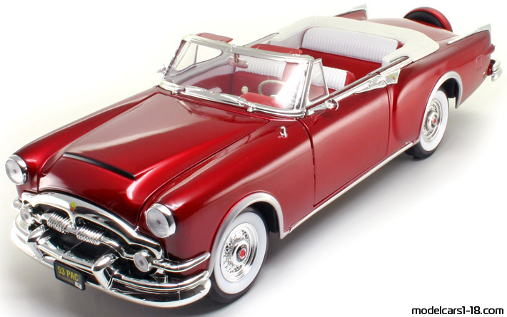 1953 - Packard Caribbean, Road Signature  1/18