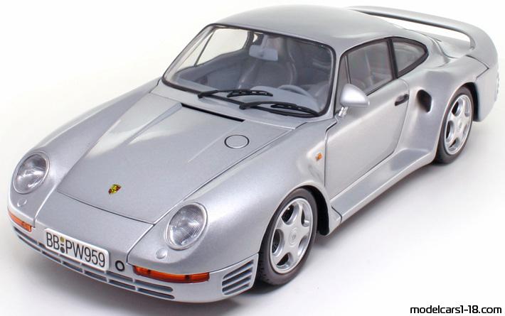 1986 Porsche 959 Coupe Exoto 118 Details