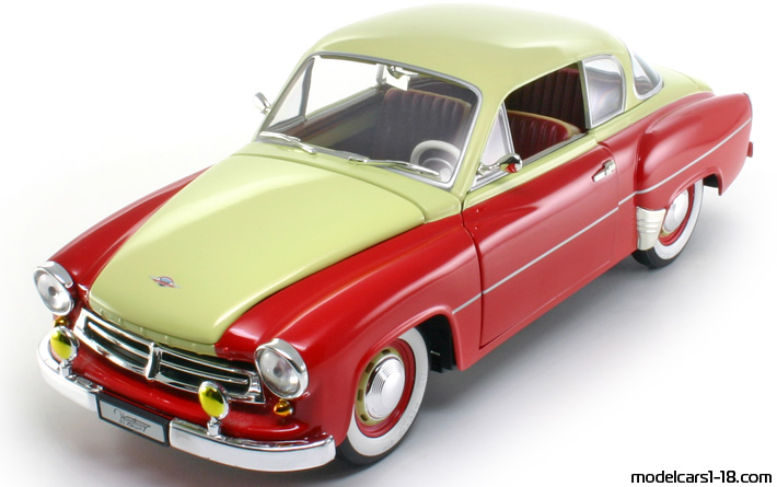 1956 wartburg 311 coupe revell 1 18 details. Black Bedroom Furniture Sets. Home Design Ideas
